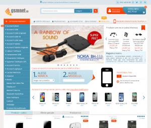 Printscreen gsmnet.ro