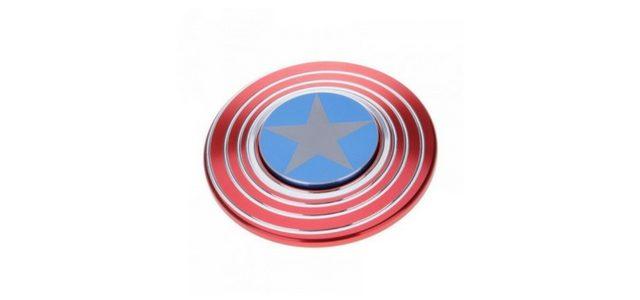 Technologyunboxing a testat Fidget Spinner-ul Antistres Captain America de la GSMnet.ro
