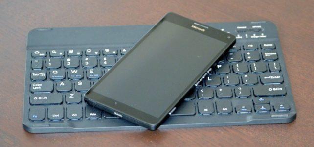 Gecko slimline bluetooth keyboard testata de mobzine.ro