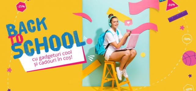 Intoarce-te la scoala, cu gadget-uri esentiale de la GSMnet.ro